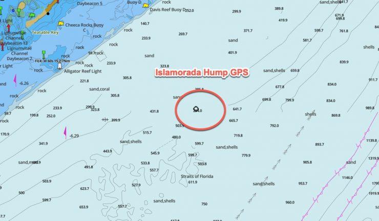 islamorada hump gps coordinates