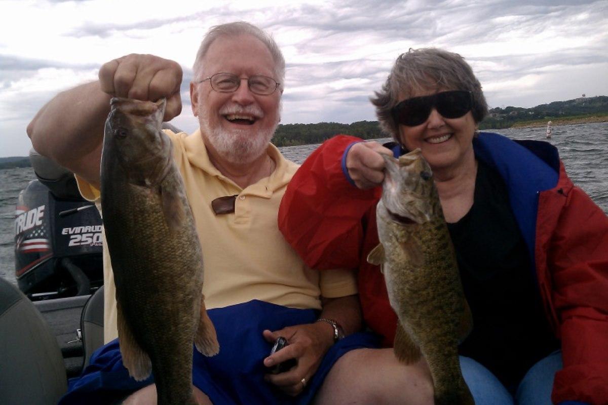john and fishing guide branson