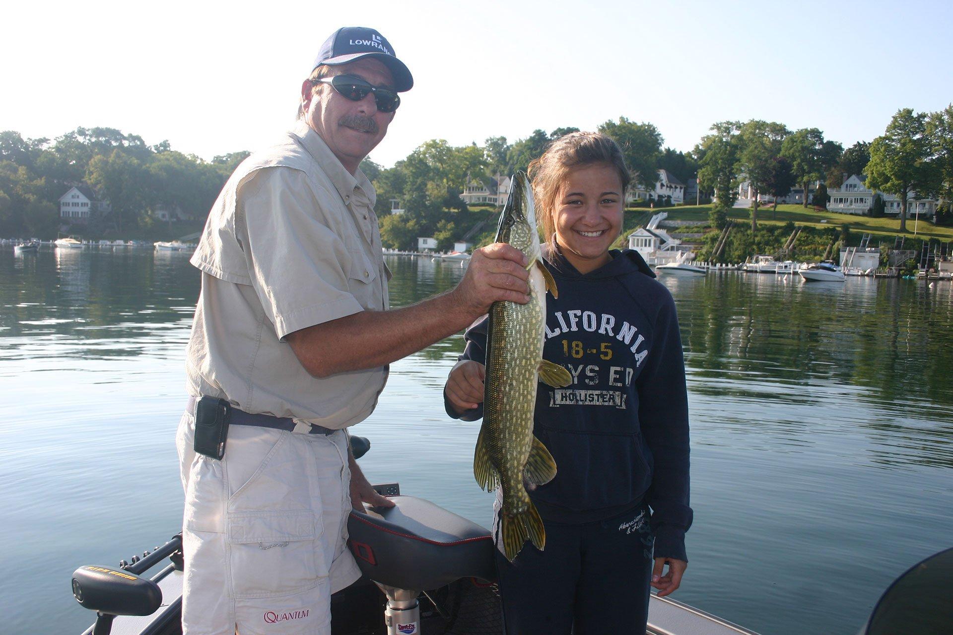 lake geneva fishing guide service