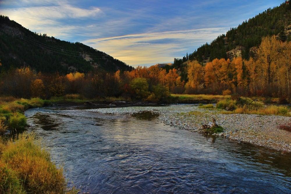 Clark Fork River Missoula Montana