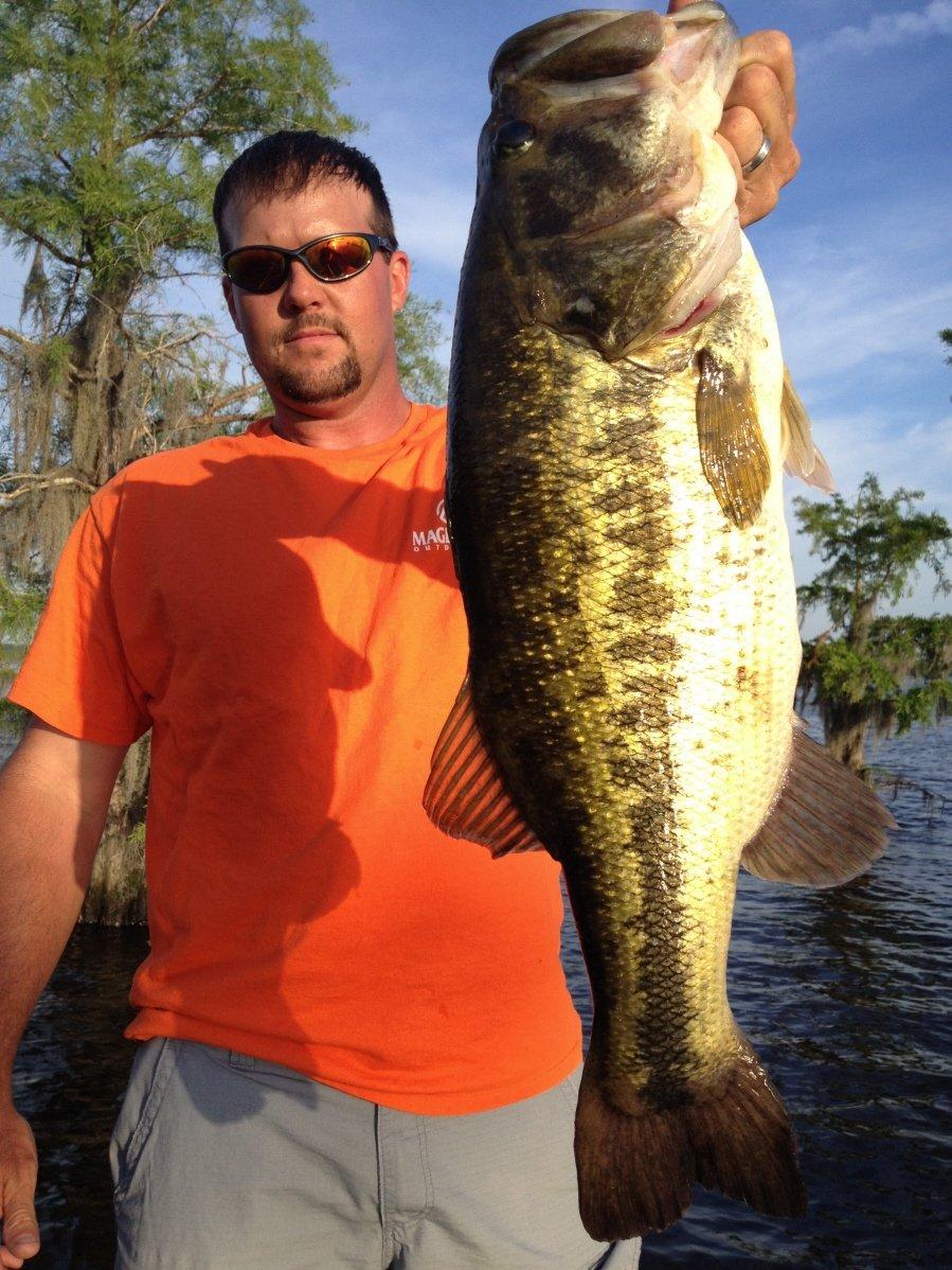 caddo lake fishing guide danny dupont