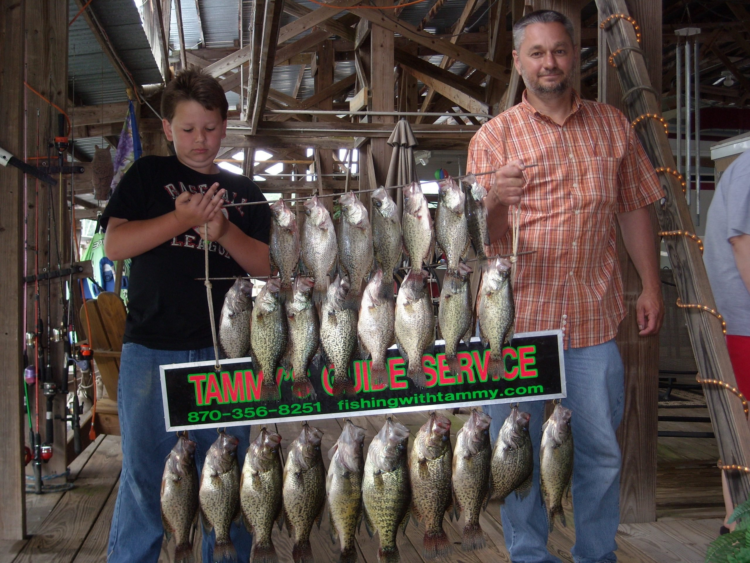 fishing with tammys guide service