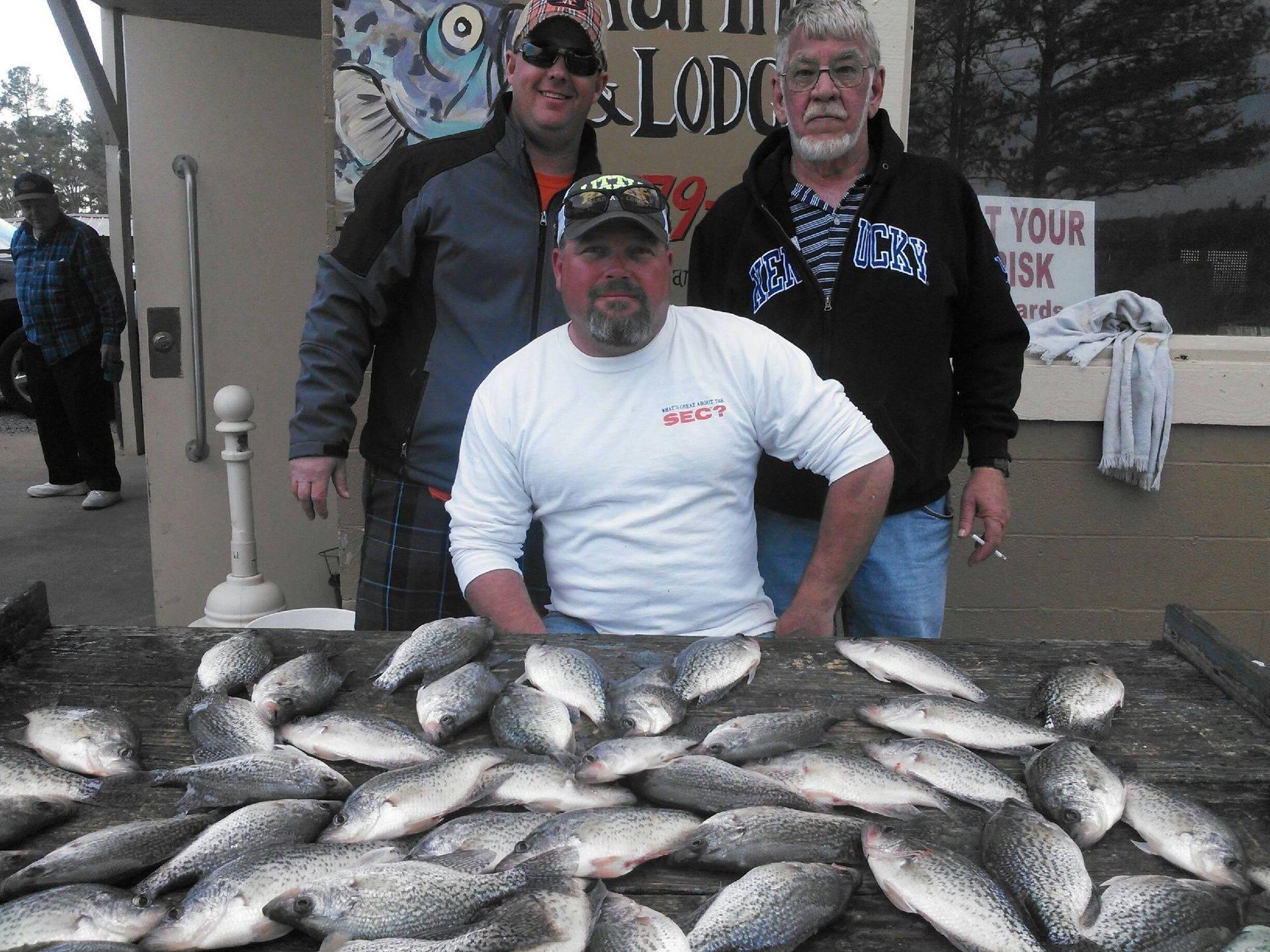 pat trammell weiss lake fishing guide