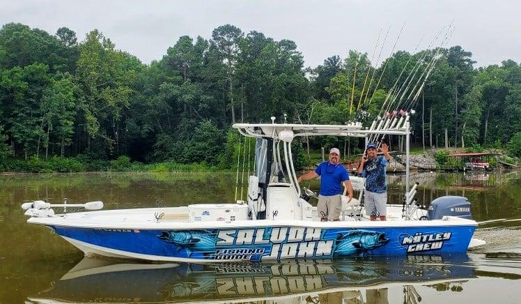 saluda john fishing guides