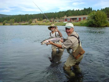 capt randy rigdons oregon trophy trout