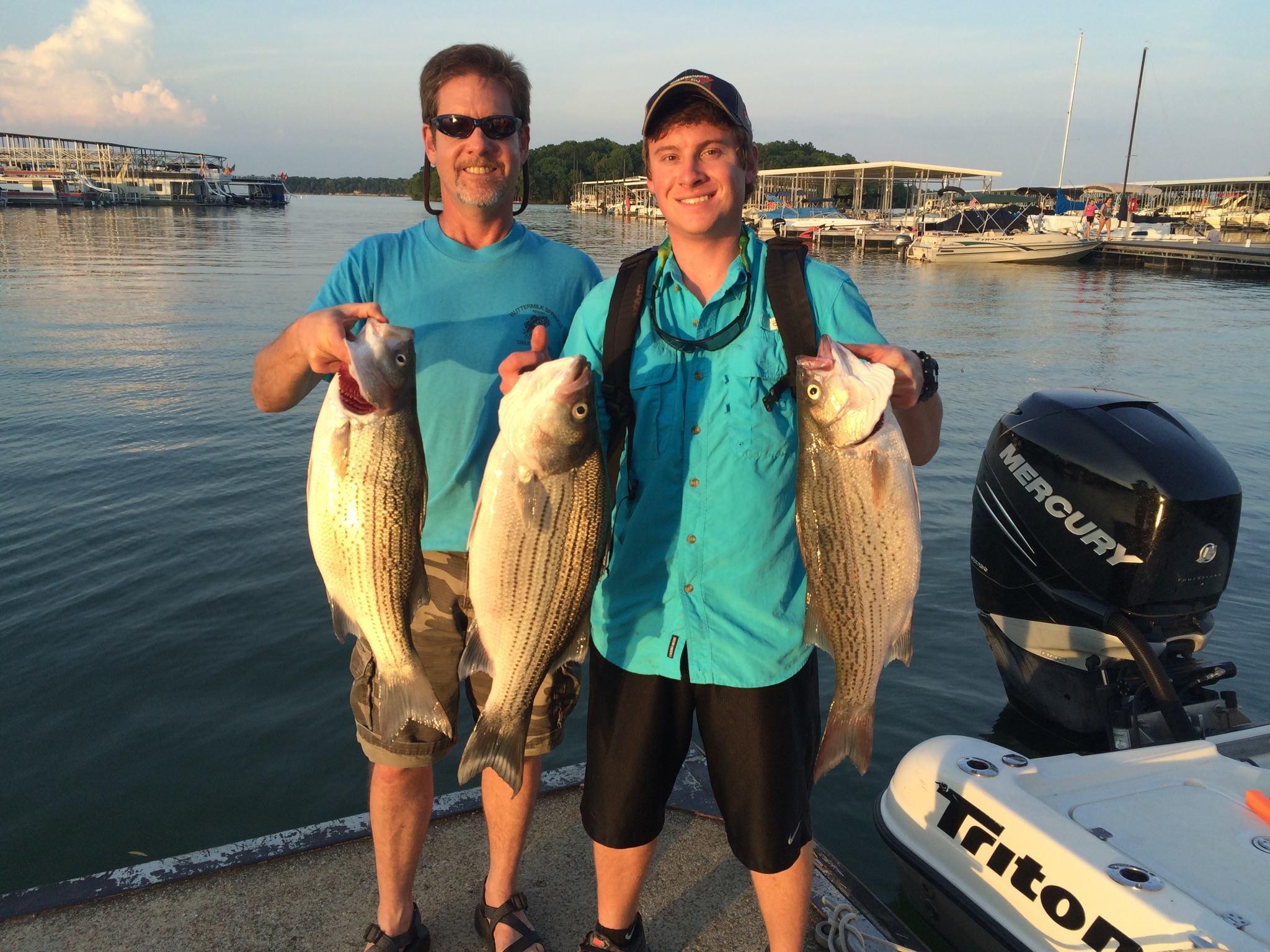 ed martin striper and hybrid fishing guide services