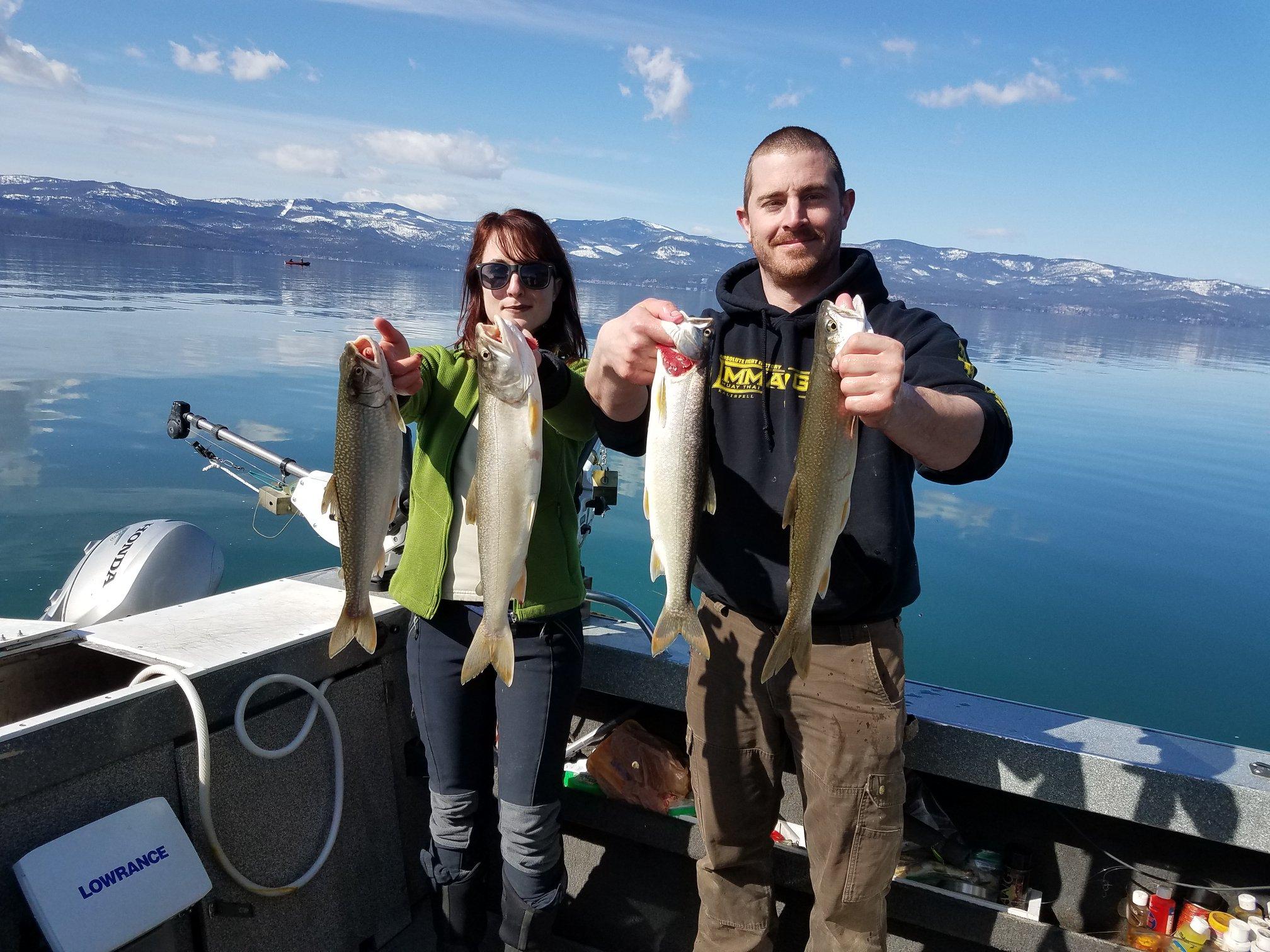 flathead lake fishing charters