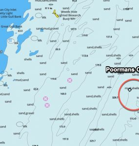 Poormans Canyon GPS Coordinates