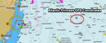 Atlantic Princess GPS Coordinates