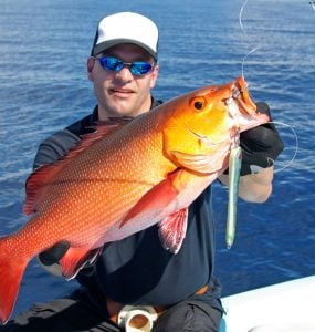 catching red snapper in season
